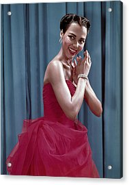 Dorothy Dandridge, 1954 Acrylic Print by Everett