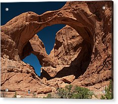 Double Arch Acrylic Print by Bob and Nancy Kendrick