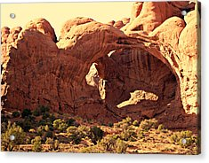 Double Arch Acrylic Print by Marty Koch