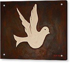 Dove Acrylic Print by Jeremy Cardenas
