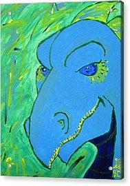 Dragon Acrylic Print by Yshua The Painter