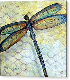 Dragonfly Dancer Acrylic Print