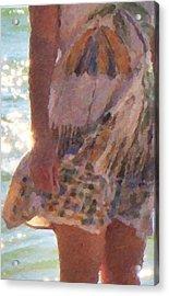 Dress Code Acrylic Print by Betsy Knapp