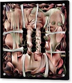Dualism2 1984 Acrylic Print by Glenn Bautista