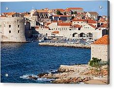 Dubrovnik Old City Architecture Acrylic Print by Artur Bogacki