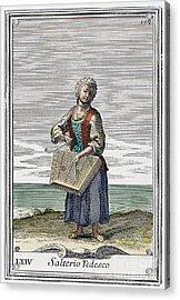 Dulcimer, 1723 Acrylic Print by Granger