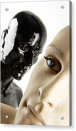 Dummies Acrylic Print by Bernard Jaubert