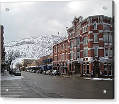 Acrylic Print featuring the photograph Durango by Bonnie Goedecke