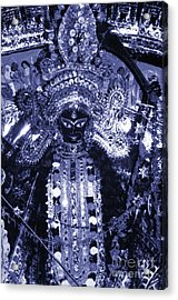 Durga Acrylic Print by Photo Researchers