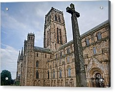 Durham Cathedral Acrylic Print by Andrew  Michael
