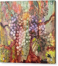 Early Harvest Acrylic Print