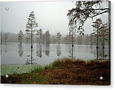 Early Morning On The Lake Acrylic Print