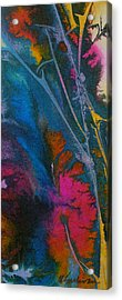 Acrylic Print featuring the painting Earth Spirit by Mary Sullivan