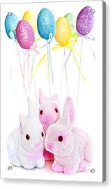 Easter Bunny Toys Acrylic Print by Elena Elisseeva