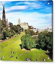 Edinburgh - Scotland Acrylic Print