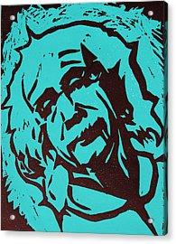 Einstein 2 Acrylic Print