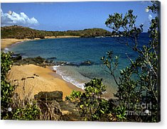 El Convento Beach Acrylic Print by Thomas R Fletcher