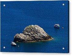 Elba Island - One Island Two Boats - Ph Enrico Pelos Acrylic Print