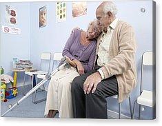 Elderly Patients Acrylic Print by Adam Gault
