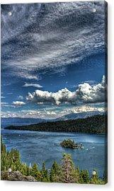 Emerald Bay Acrylic Print by Carlos Quiroz