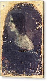 Emily Bront� (1818-1848) Acrylic Print by Granger