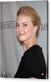 Emily Vancamp At Arrivals For Coco Acrylic Print by Everett