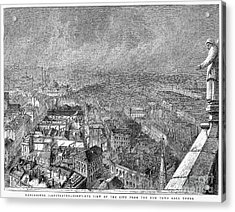 England: Manchester, 1876 Acrylic Print by Granger