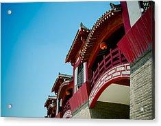 Epang Palace Acrylic Print by Pan Hong