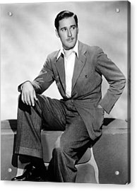 Errol Flynn, 1930s Acrylic Print by Everett
