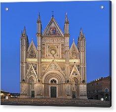 Europe Italy Umbria Orvieto Orvieto Acrylic Print by Rob Tilley