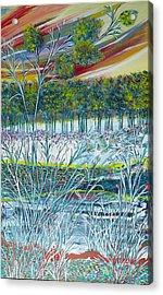 Exotic Landscape  Acrylic Print