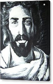 Face Of Christ Acrylic Print