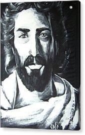 Face Of Christ Acrylic Print