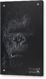 Fade To Black Acrylic Print by Christian Garcia