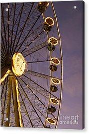 Ferris Wheel Acrylic Print by Bernard Jaubert