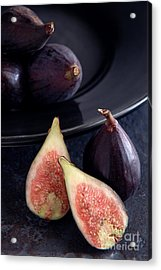 Figs Acrylic Print by HD Connelly