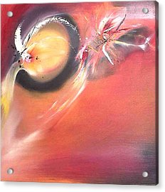 Fireflies. Acrylic Print by Paula Steffensen