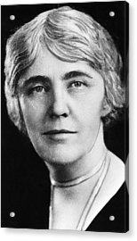 First Lady Lou Henry Hoover 1874-1944 Acrylic Print by Everett
