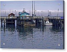 Fishermans Warf Monterey Acrylic Print
