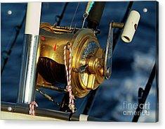 Fishing Rods Acrylic Print by Sami Sarkis