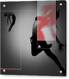 Flight Acrylic Print by Naxart Studio