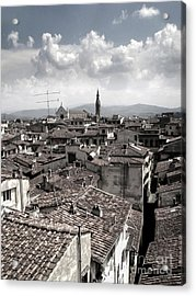 Florence Italy - 02 Acrylic Print by Gregory Dyer