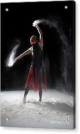 Flour Dancer Series Acrylic Print by Cindy Singleton