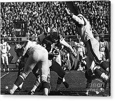 Football Game, 1965 Acrylic Print by Granger