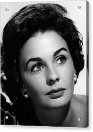 Footsteps In The Fog, Jean Simmons, 1955 Acrylic Print