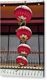 Four Lanterns Acrylic Print by Kelley King
