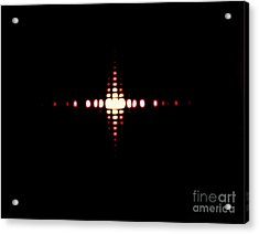 Fraunhofer Diffraction Acrylic Print by Omikron