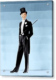 Fred Astaire, Ca. 1930s Acrylic Print by Everett