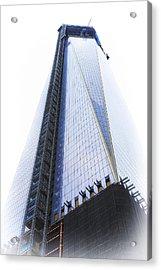 Freedom Tower Acrylic Print by Vicki Jauron