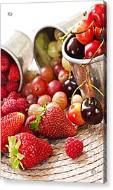 Fruits And Berries Acrylic Print by Elena Elisseeva